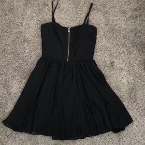 Guess Black Corset Dress
